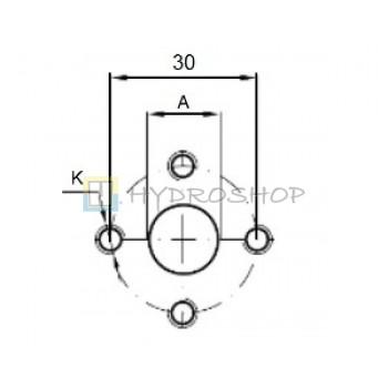 Flantsid 30mm , EURO standart