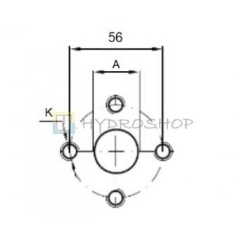 Flantsid 56mm , EURO standart