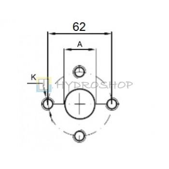 Flantsid 62mm , EURO standart
