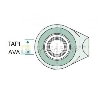 25,4mm tapiava