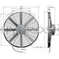 Jahuti ventilaator D385mm