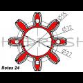 Vahesiduri element, sh98, PUNANE